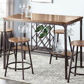 diablo pub height dining table sears sears canada furniture