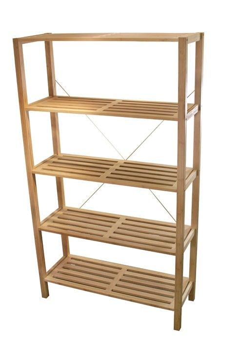 Looking To Purchase This Unit: Anji 5-Tier Shelf Unit Available From Storables.com
