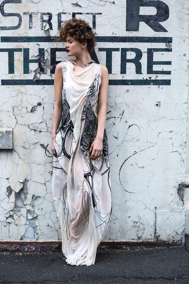 Garment Design By Rmit Fashion Student Alanna Barca With Images Fashion Fearless Fashion Student Fashion