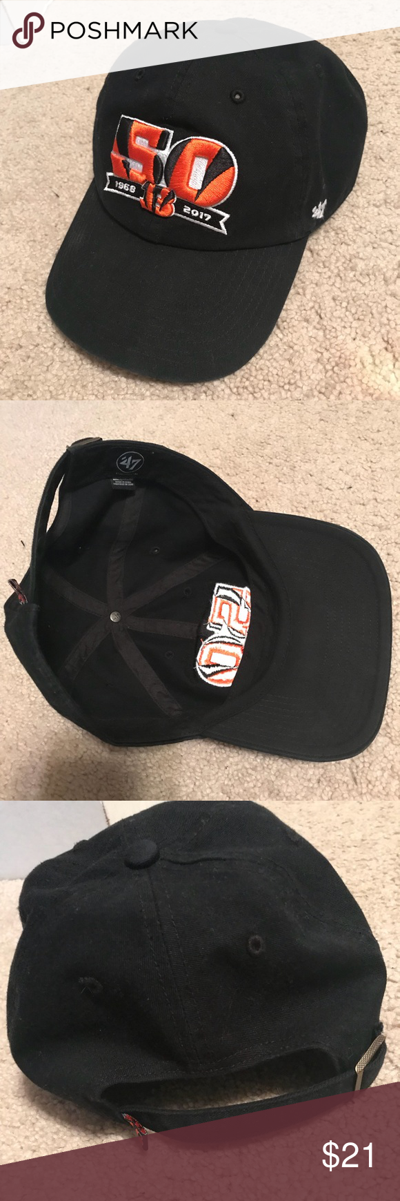 1f5dde00056 RARE Cincinnati Bengals NFL Football Hat Purchased at the Bengals Pro Shop (only  place to
