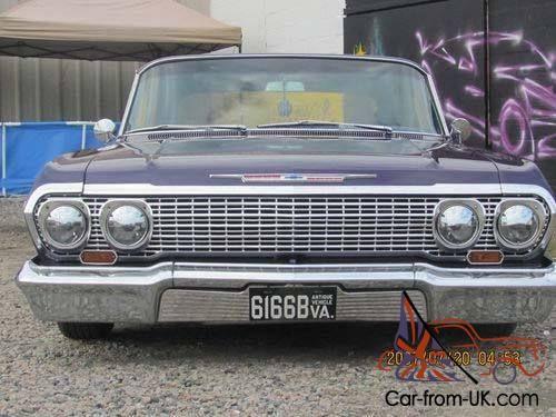 1963 Chevy Impala Lowrider 2 Door Base Hardtop Coupe Custom