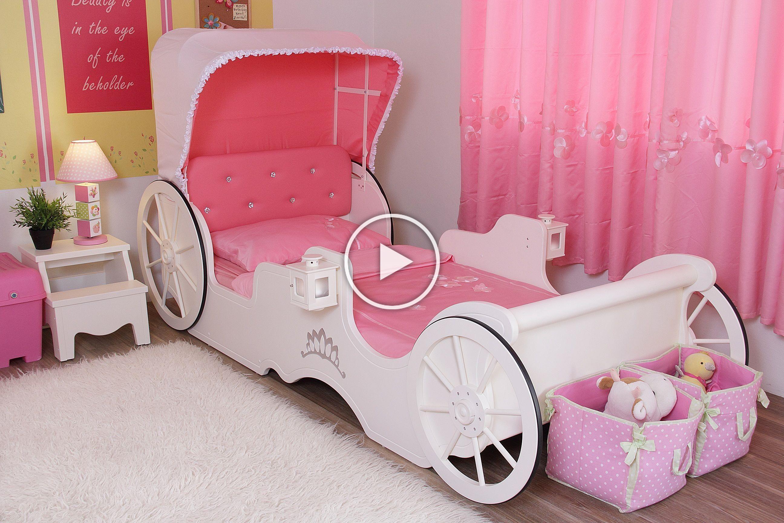 Princess Carriage Bed Low Version Www Tomatokidz Com Toddler Bedroom Sets Princess Bedroom Set Toddler Bed Set