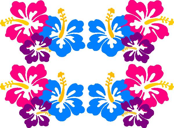 blue hawaiian clip art
