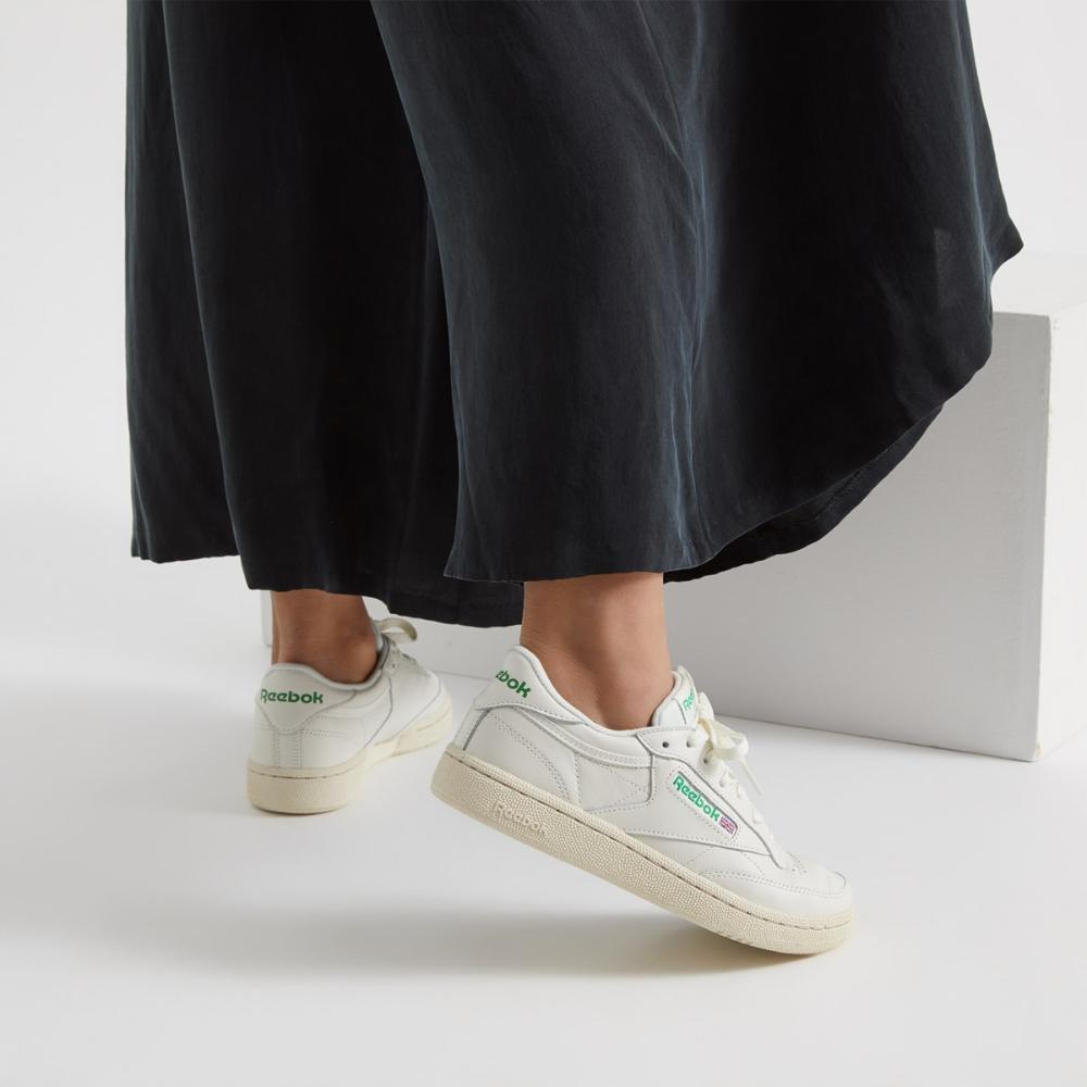 Women's Club C 85 Sneakers in Chalk in 2020 Sneakers  Sneakers