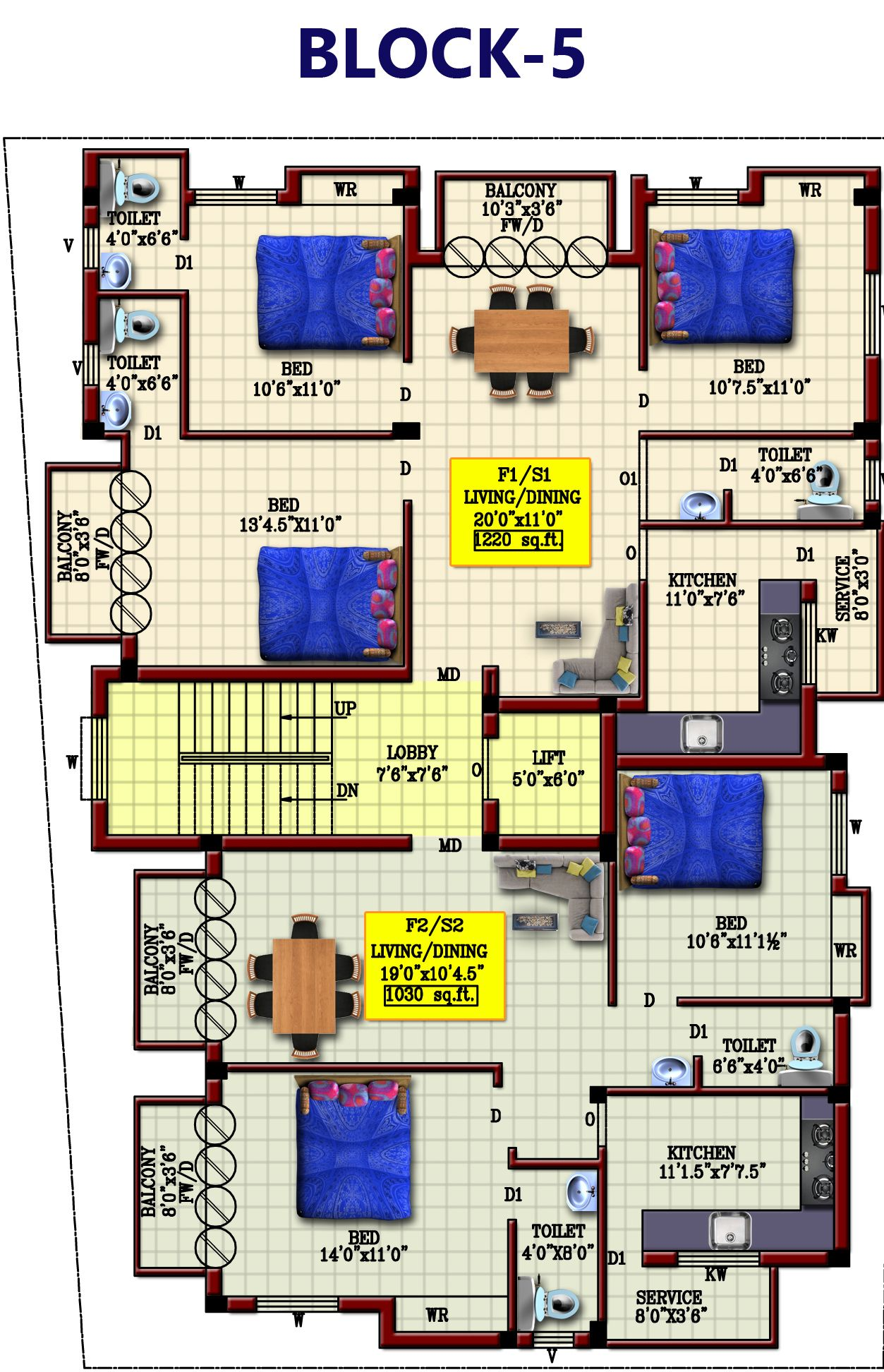 5th Block Floor Plan Of Brisa Flats Apartments Mugalivakkam Chennai Flat Apartment Floor Plans How To Plan