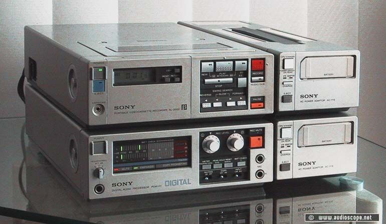 Sony PCM 1630
