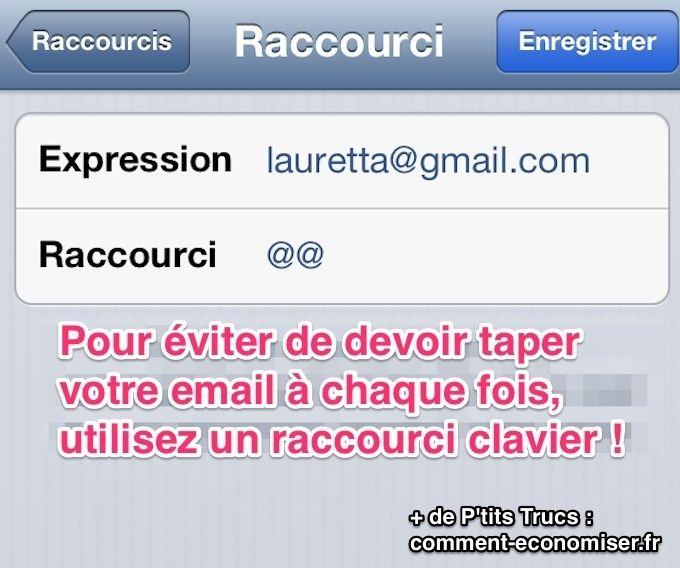 iphone   l u0026 39 astuce pour ne plus jamais devoir retaper votre email