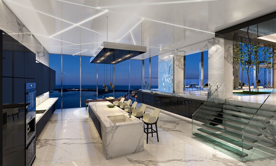 5 stunning miami beach penthouses with pool miami beach penthouses and architecture design