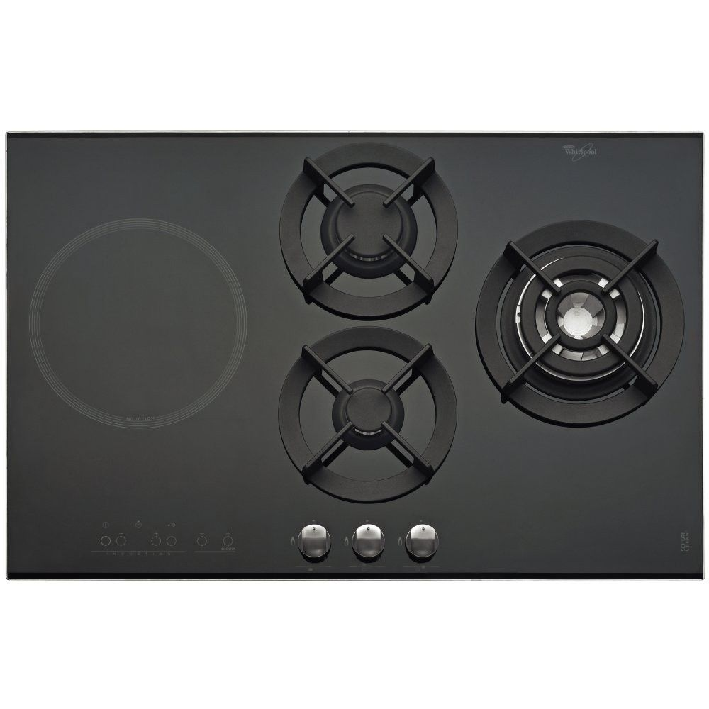 whirlpool akt477ix | 77cm gas / induction hob | kitchen | pinterest