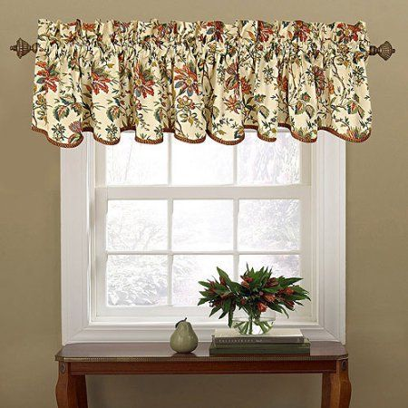 Waverly Felicite Window Curtain Valance Walmart Com Window