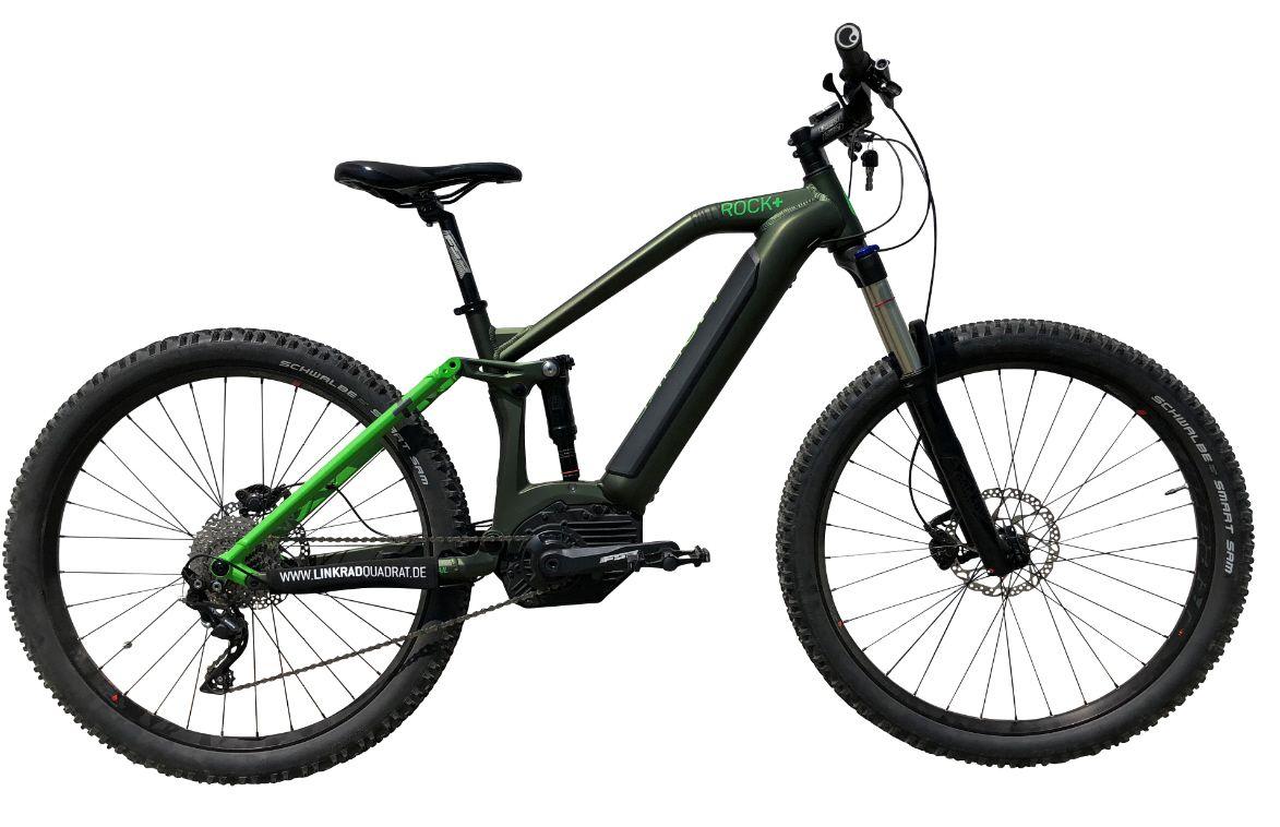 Liq Rock Fully 27 5 Bosch Performance Cx Powertube 500 Wh Modell 2018 Grun E Bikes Mtb Elektro Rader Pedelecs Fahrrader L Elektro Rad Modell Elektro