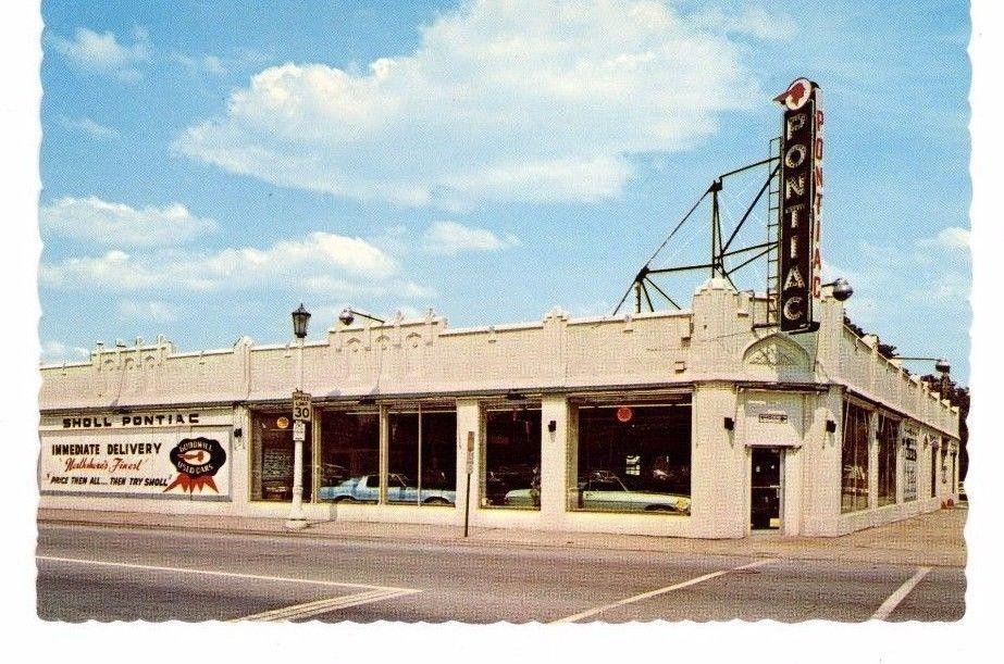 Sholl Pontiac, Inc., Dealership, Evanston, Illinois