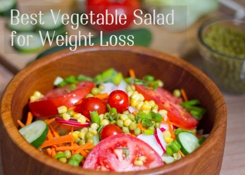 how to lose 10 pounds in a week vegetable salad