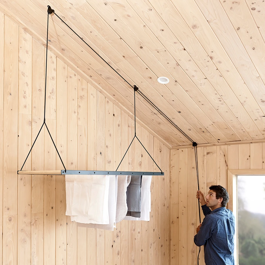 Hanging Drying Rack In 2020 Hanging Drying Rack Clothes Line