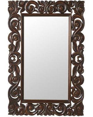 dark wood carved mirror - Google Search