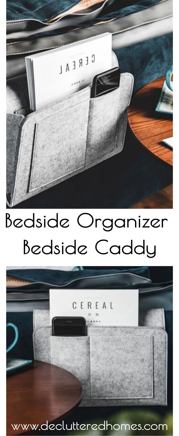 Bedside Organiser Bedside Caddy Bedside organizer