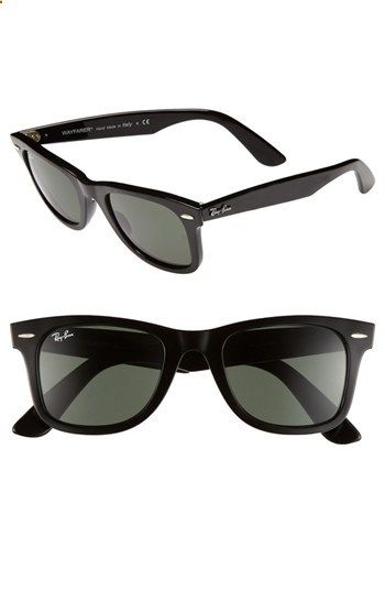 16fbc4856c4 Ray-Ban Classic Wayfarer Nothing beats the original! Favorite glasses of  all time.