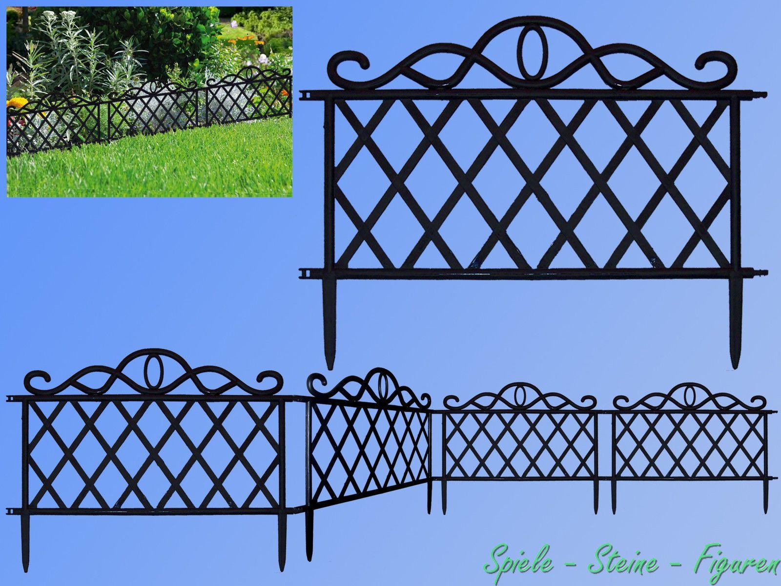 Beet Einfassung Zaun Zierzaun Gartenzaun Beetumrandung Rasenkante