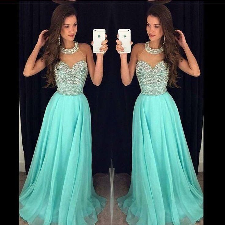 Second Hand Prom Dresses Uk Heavy Stones And Pearls Prom Dresses For