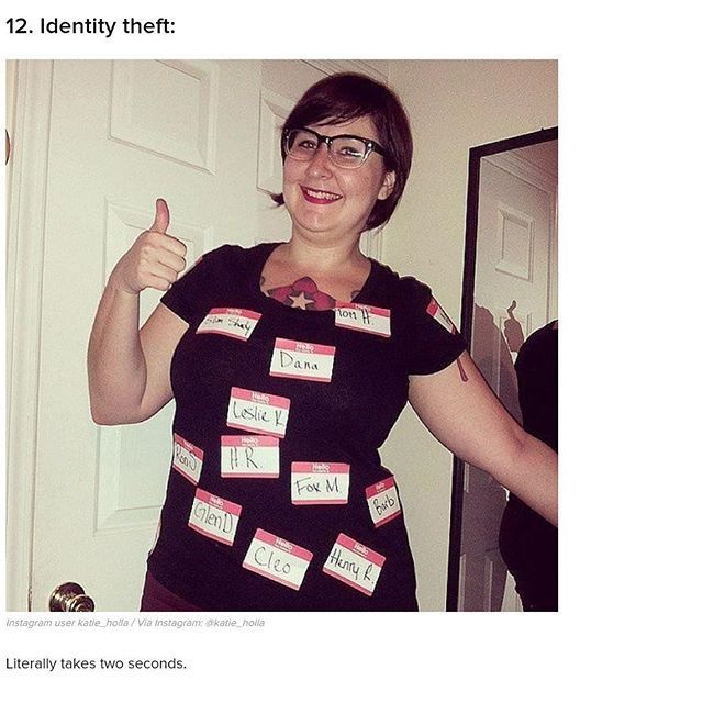 halloween costume name tags all over