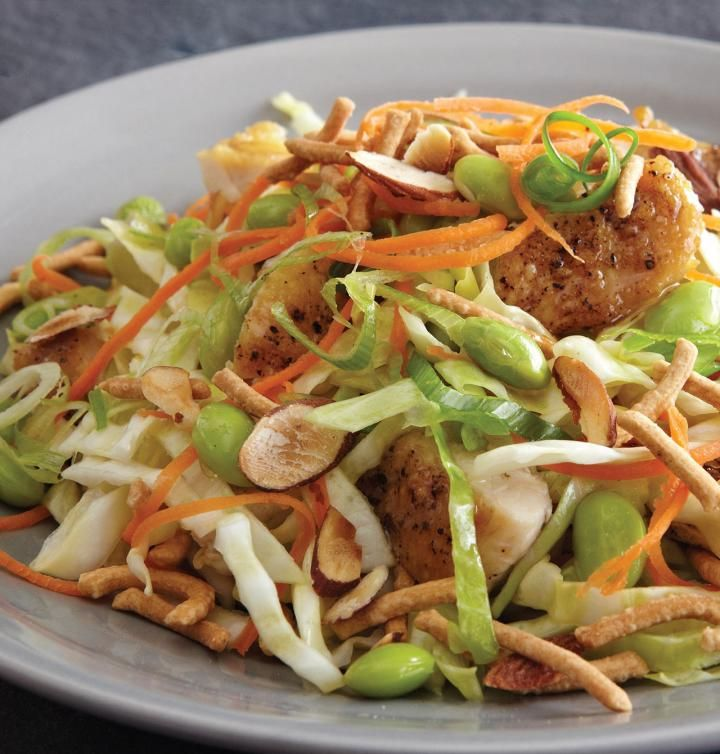 CRUNCHY ASIAN SALAD WITH CHICKEN