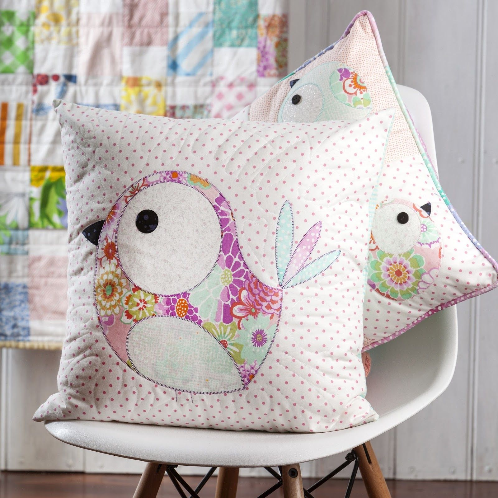 PIP AND ELLIE CUSHION PATTERN