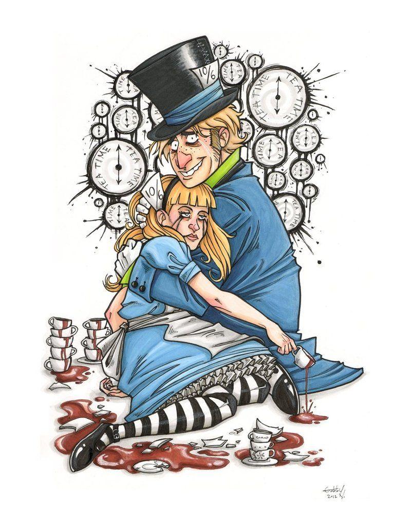 My Alice by GabbyVee Alice in wonderland, Dc comics art