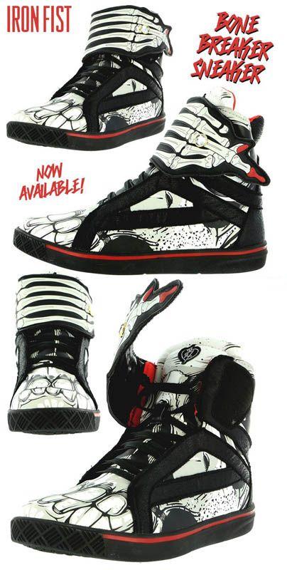 Bone Breaker Sneaker by Iron Fist