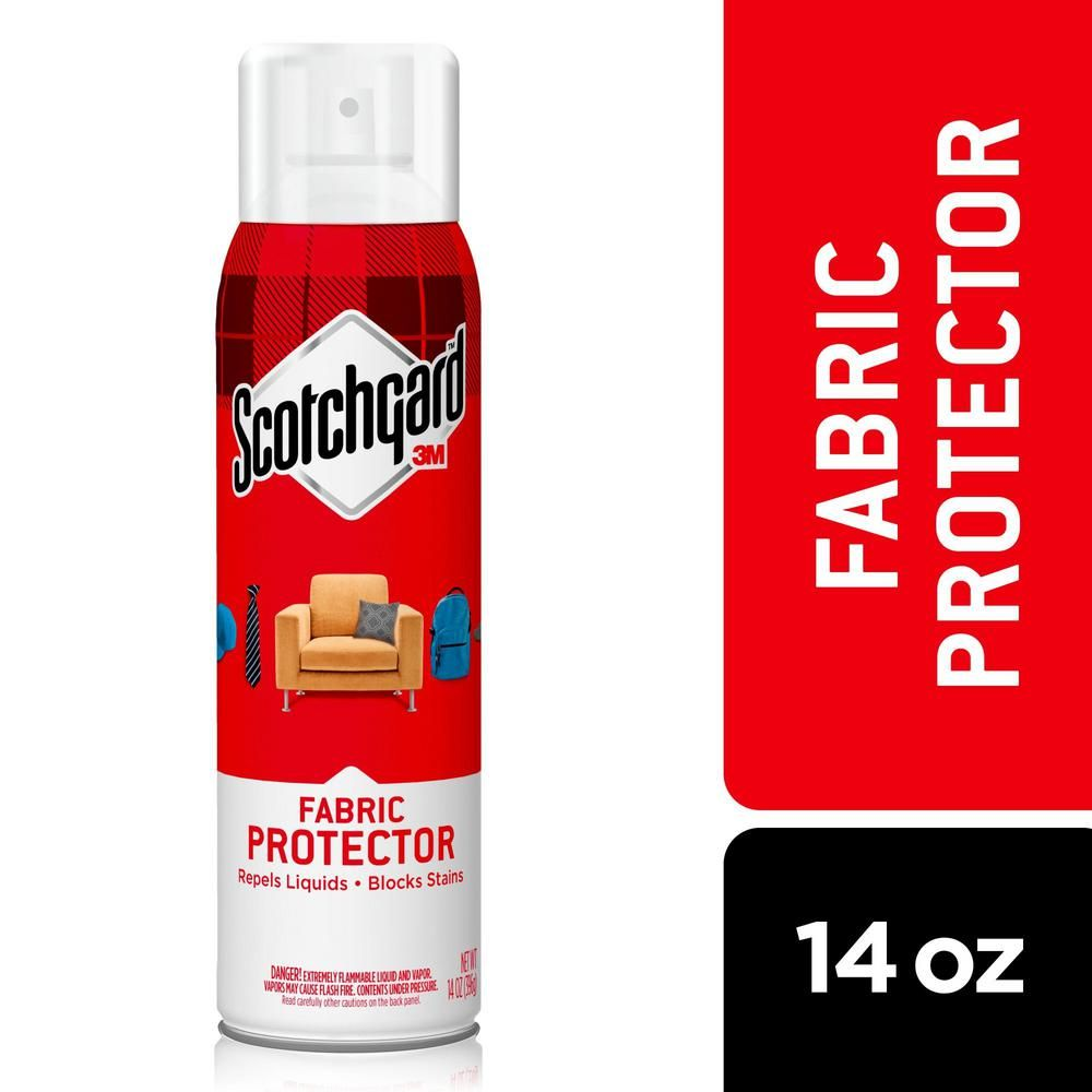 Scotchgard 14 Oz Fabric And Upholstery Protector 4106 14 The Home Depot Scotchgard Fabric Upholstery Protectors Upholstery
