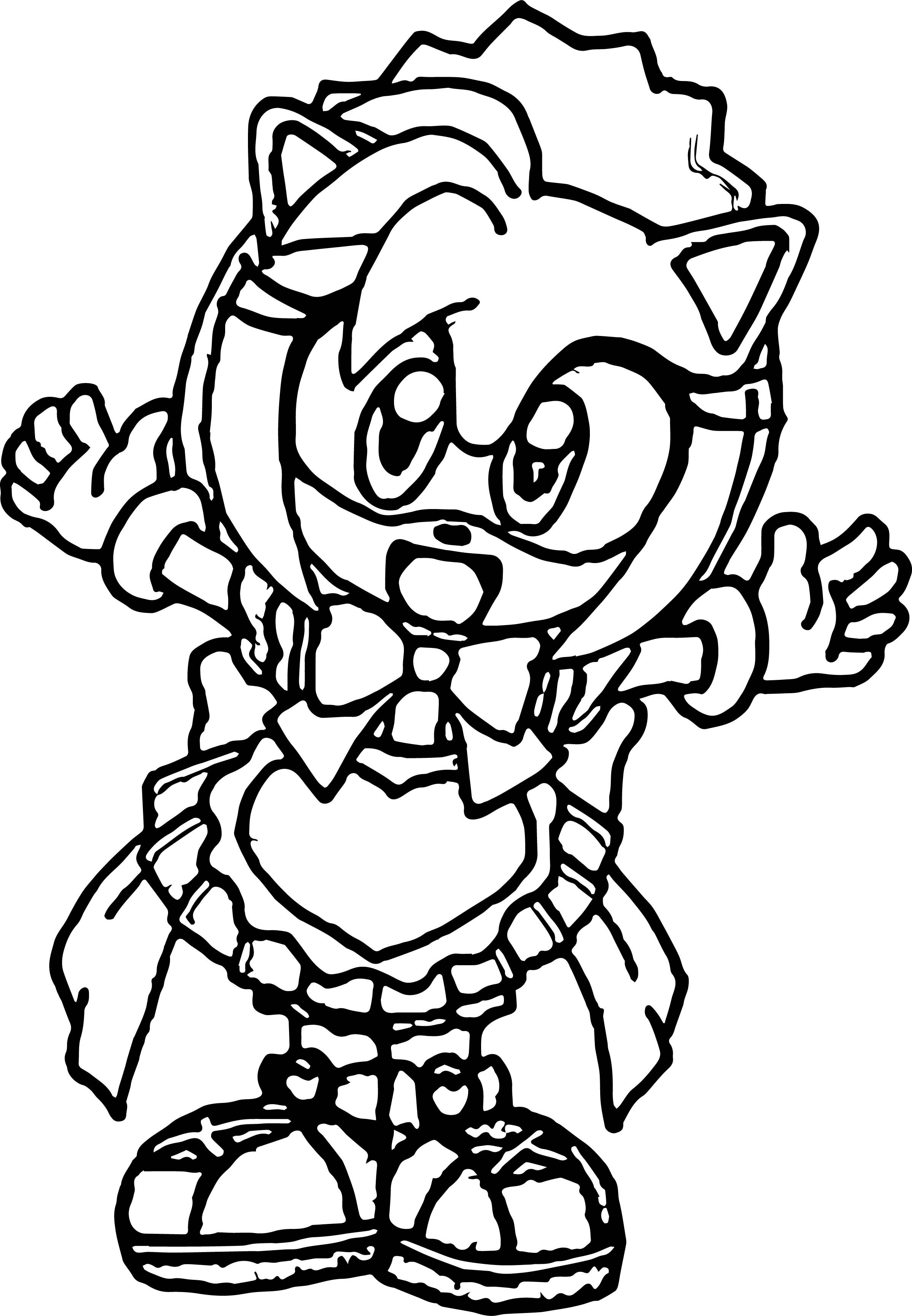Nice Small Kid Amy Rose Coloring Page Rose Coloring Pages Coloring Pages Amy Rose
