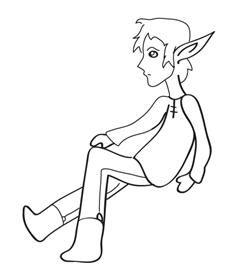 how to draw an elf cartoon elf