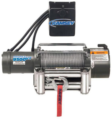 Ramsey Winch Patriot 9500 Ut R 12v Wireless Remote Ramsey Winch Winch Electric Winch