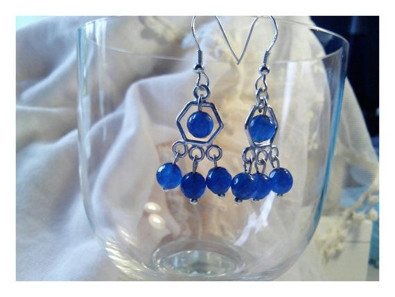 Check out this item in my Etsy shop https://www.etsy.com/listing/233603043/faceted-blue-quartz-chandelier-earrings