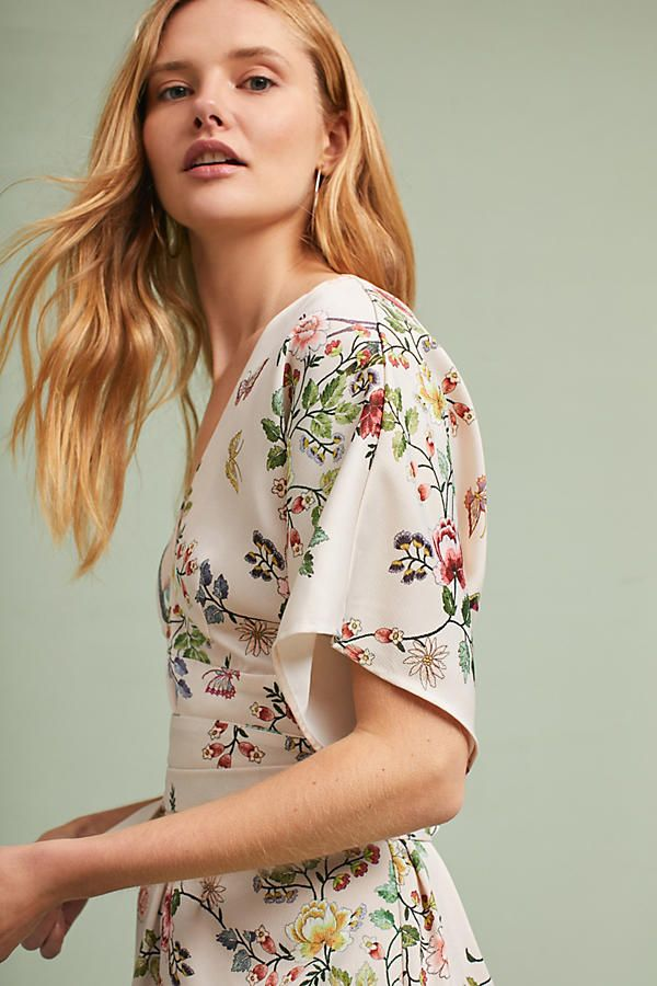 d5cb5fe474ed Avian Kimono Midi Dress | Anthropologie Girls Wear, Refashion, Anthropologie,  Floral Tops,