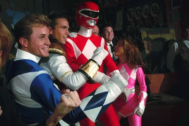 Power rangers breaks ground with first queer big