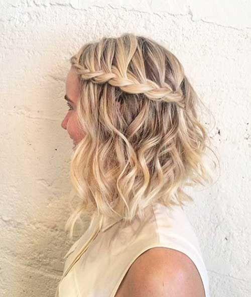 Peinados con pelo corto pinterest