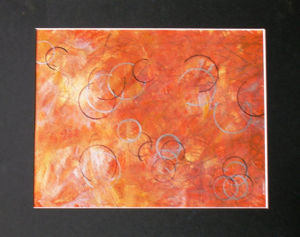 """""""Just About""""  - Artist Original, Acrylic, Medium, Dantes Nferno, Sharpie, Paper #Abstract"""