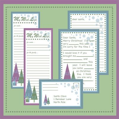 Christmas Letter Printables  Wish Lists Blank Letter To Santa
