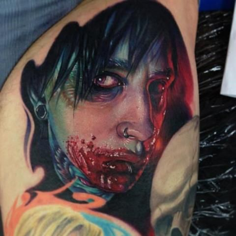 horror tattoo - Google 검색