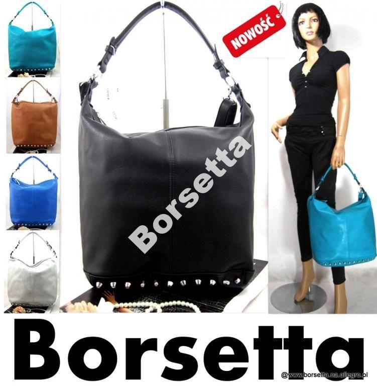 Damska Torebka Black Brown Gray Worek Cwieki Cc72 5010189634 Oficjalne Archiwum Allegro Chanel Deauville Tote Bag Black And Brown Tote Bag