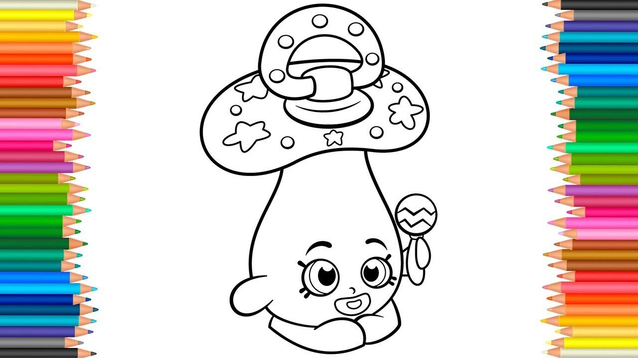 Dum Mee Mee Coloring Pages Shopkins Coloring Book For Children