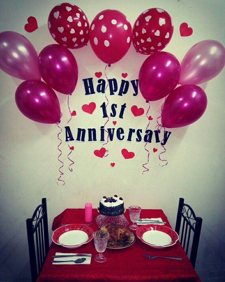 Happy Anniversary Simple Wedding Anniversary Decorations At Home Addicfashion