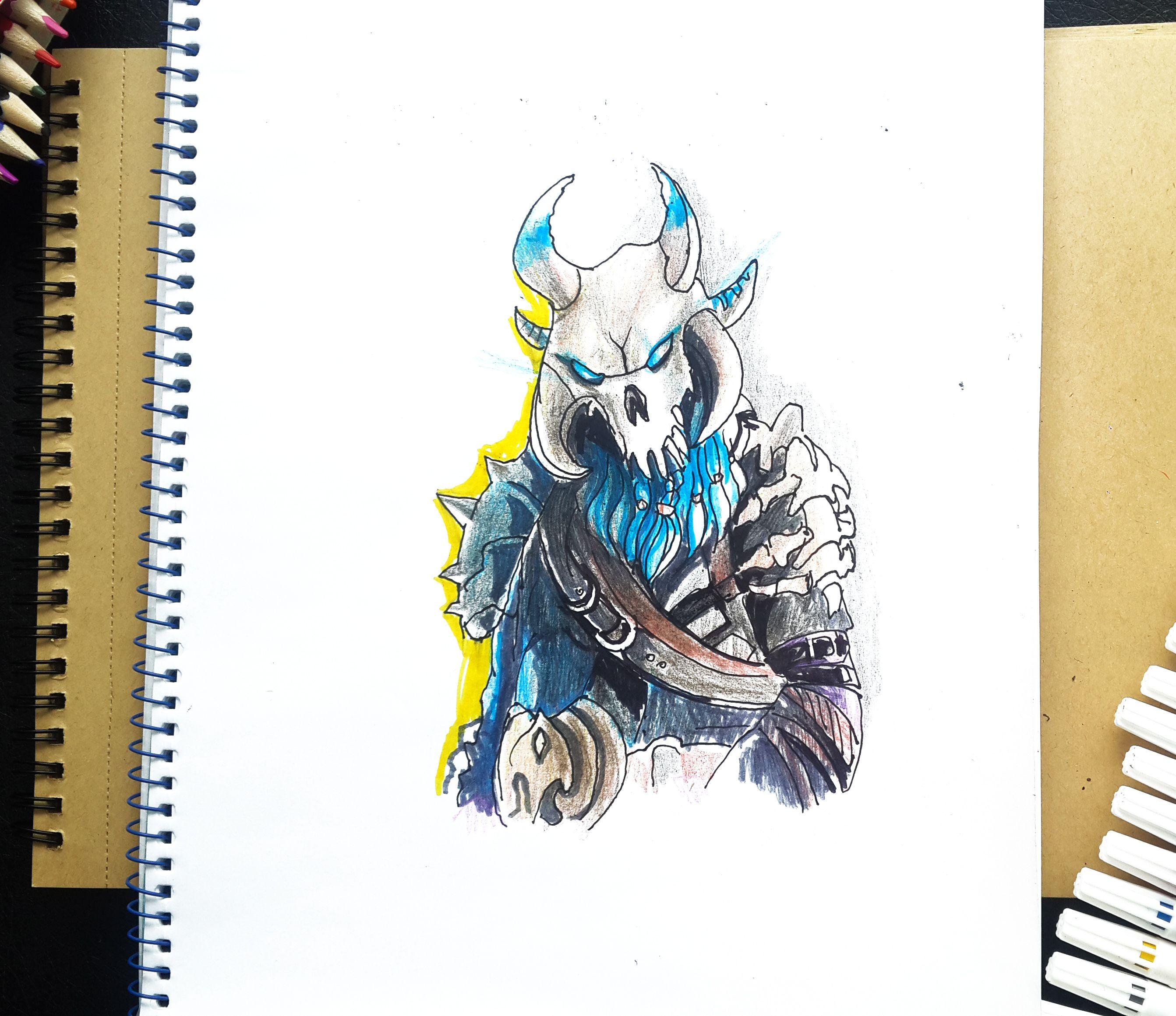 How To Draw Ragnarok Max Level Fortnite Battle Royal Art