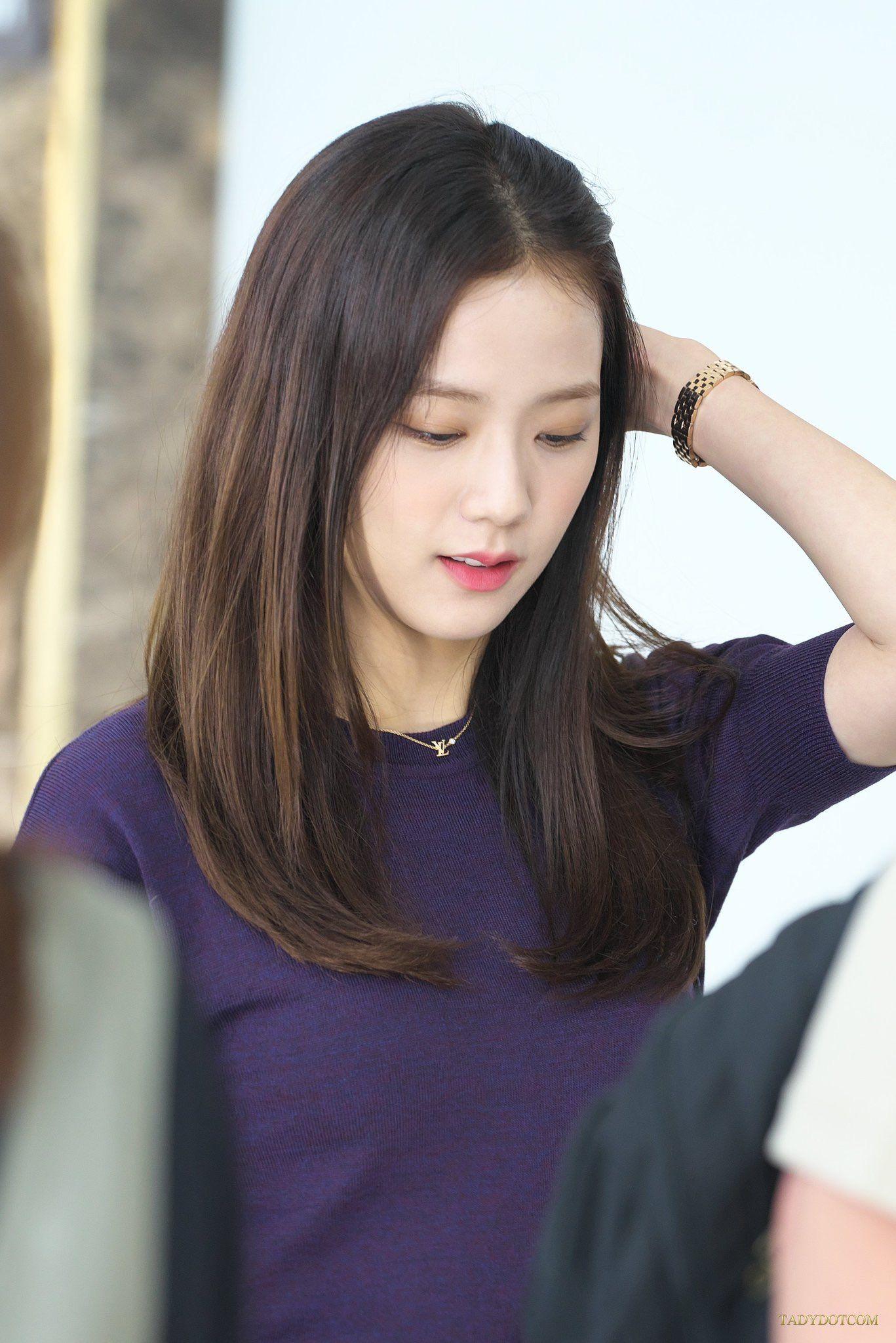 Jisoo Rabbit Kim On Twitter Girl Haircuts Hairstyle Blackpink Jisoo