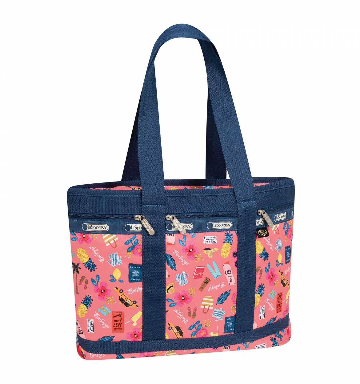 Everyday Tropical Voyage Print Medium Travel Tote By Lesportsac 98 At Paper Company