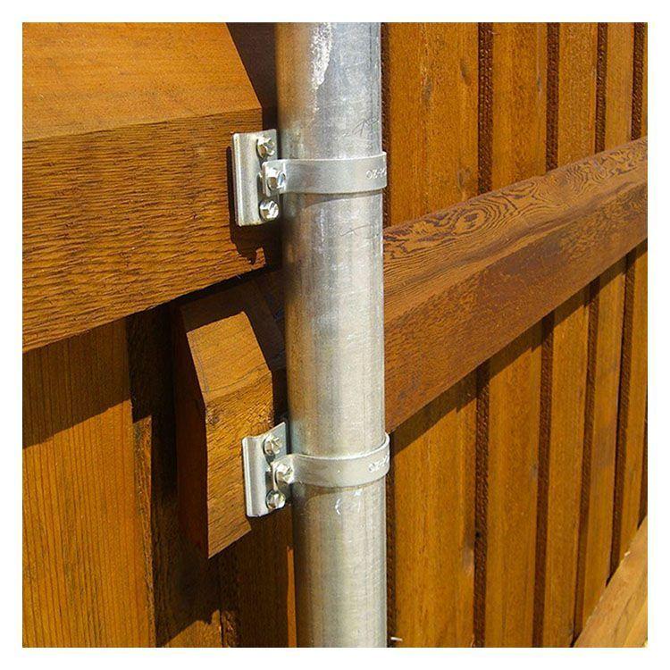 Fence Brackets Hoover Fence Co. Modern wood fence