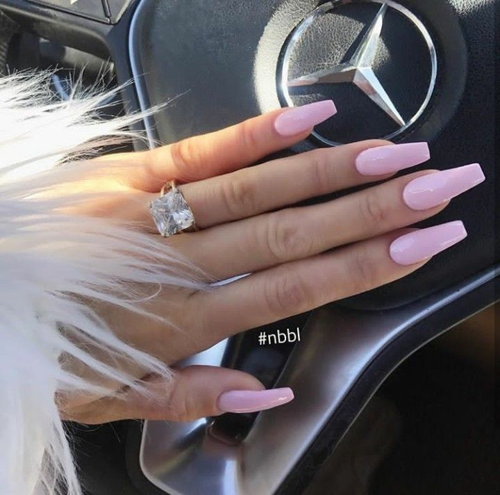 Light Pink Nails Light Pink Acrylic Nails Pink Chrome Nails Pink Acrylic Nails