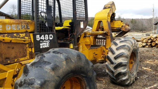 1994 John Deere 548D Skidder | Skidders for Sale | Heavy