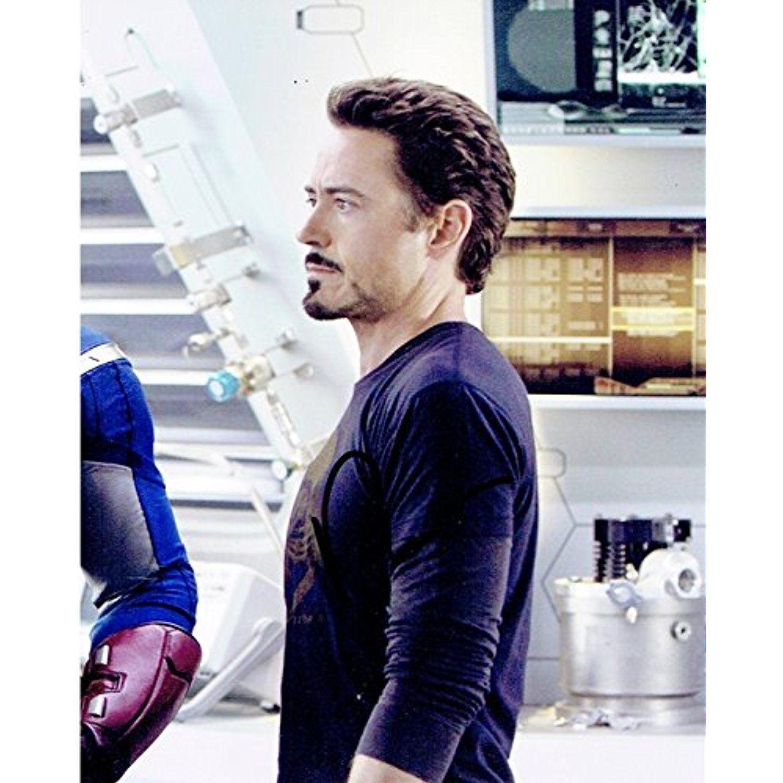 Robert Downey Jr Ironman autographed 8x10 photo RP