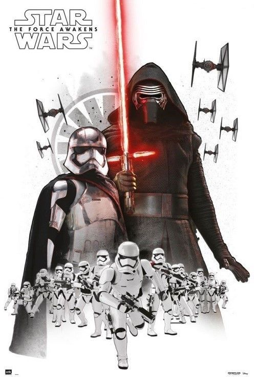 24x36 Star Wars Poster Characters shrink wrapped